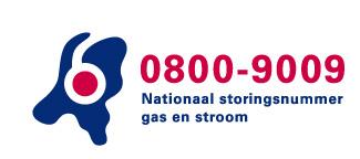 0800-9009 Nationaal storingsnummer gas en stroom