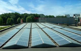 Zonnepanelen op dak RENDO