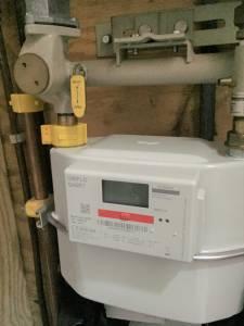 Gasmeter meter meterkast lichter