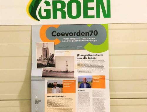 Coevorden viert feest: 70 jaar geleden de eerste Nederlandse gemeente met aardgas