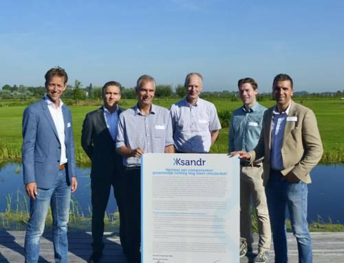 Netbeheerders tekenen samen manifest tijdens Ksandr Live XL